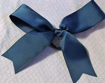 "Cheer Bow, Blue Hair Bow, Fancy Bow, Girls Hair Bows, Boutique bow, Big Bow, Girls hair bow, Basic Cheer Bow, Baby Blue Bow, Big Bow, 9"""