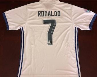 Cristiano Ronaldo Real Madrid Jersey, Large