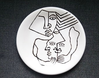 "Set of 2 dishes ""Graphic"" 28cm"