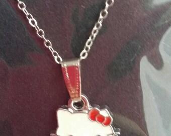 Girl Hello kitty pendant