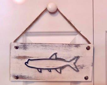 Tarpon Fish Sign