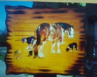 From photos or pictures of your favorite pet l will paint for you  for any occasion you will be proud to own or present it to others