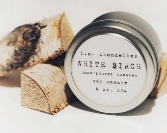 Soy Candle WHITE BIRCH