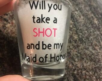Take a SHOT shot glass