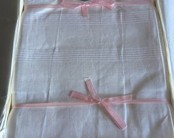 Set of 8 years ' 50 linen towels