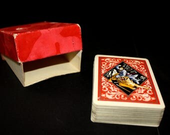 Vintage Japanese Playing Cards in Box
