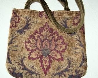 Chenille Tapestry Bag