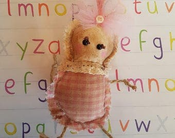 """Grungy """"Mabel"""" - A Rag Doll made with love"""