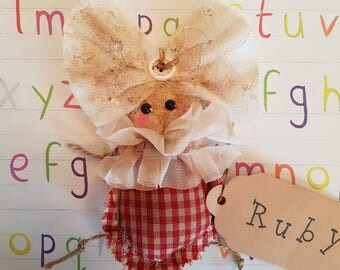 """Grungy """"Ruby"""" - A Rag Doll made with love"""