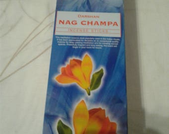 Nag Champa Incense Darchan 120 Rods/6 by 20 Uni