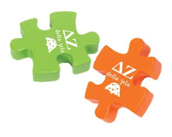 Delta Zeta Stress Reliever Puzzle