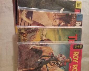Roy Rogers & Trigger comics set 1