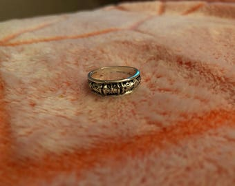 Celestial single band with detailing (6.5)
