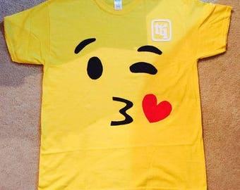 Emoji T-shirt Adult Youth Toddler