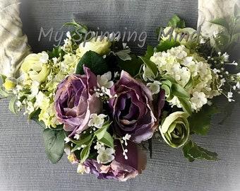 Spring Garden of lavender to gray