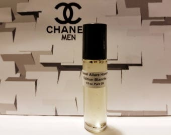 Allure Homme Edition Blanche Chanel Men Type Cologne Perfume Oil