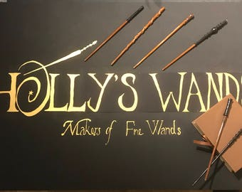 Handcrafted wands