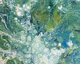 ICE AND WATER  #103 A. Original Gallery Painting 24x24
