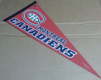 Montreal Canadiens Pennant - Full Size