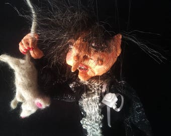 Marionette witch