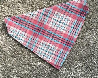 Dog collar bandana