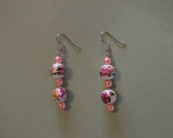 Elegance 7.0 - Roses & Pearls Danglies