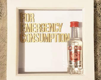 Emergency consumption frame