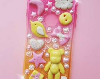 Kawaii decoden anime  handmade sweet phone case for IPhone