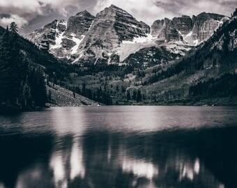 Colorado Maroon Bells Photo Print