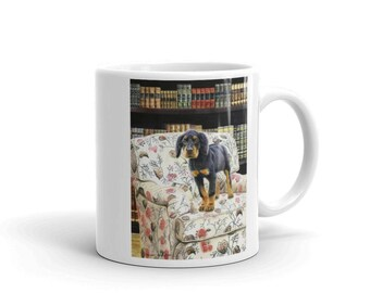 The Scholar Gordon Setter 11oz Coffee Mug