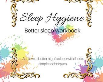 Sleep Hygiene Planner and Printables