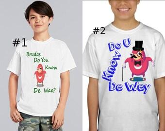Do u You Know Da Way? Kids T-Shirt Ugandan Knuckles Youtube