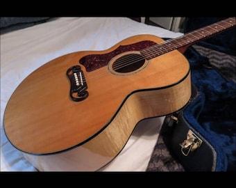 Left Handed Gibson Guitar J100  1999