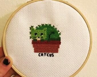 CatCus Cross Stitch