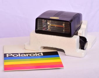 New old stock Polaroid Polatronic 2 flash with box and instructions
