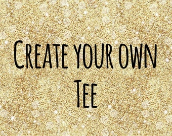 Creat your own womens tshirt - short sleeved