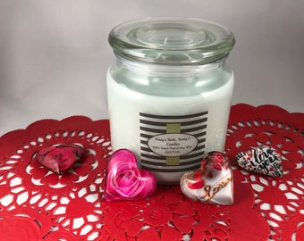 3 Wick 100% Handpoured Soy Wax Container Candle