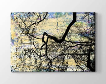 Fall Printing On Canvas, Wall Art, Canvas Prints, Room Deco, Beautiful View, Wonder, Tree Painting