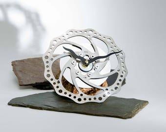 Bicycle Disc Break Clock Free Float - wall clock