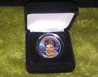 Elvis 25th Anniversary Commemorative Coin