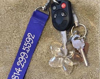 Wristlet key holder