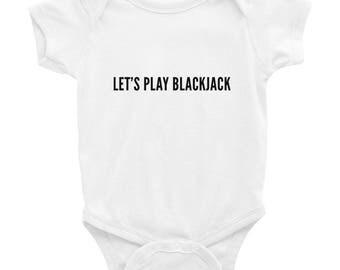 Blackjack Baby Onesie