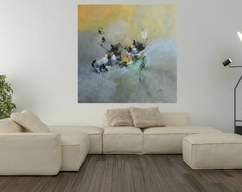 Modern abstract painting. Deliverance