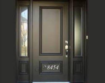 Door Number - Decal