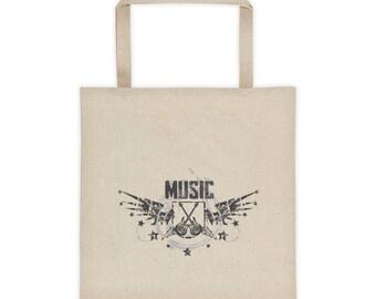 Music Tote bag Music Lovers Bag