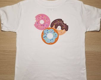Toddler 2T 3T 4T 5T Donut T-Shirt