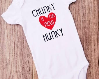 Chunky is the New Hunky Baby Boy Shirt