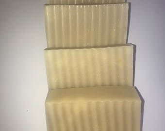Fresh Clean Hand Soap - handmade with all natural ingredients & essential oils. Cold Process Soap.