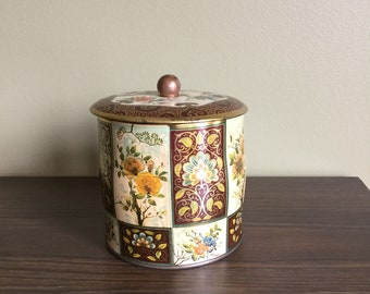 DAHER METAL CONTAINER made in England vintage