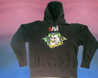 IVEVA Pullover Embroidered Hoodie